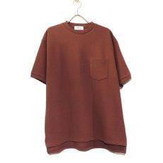 """画像2: Riprap """"Crew Neck Pocket Polo Shirts""""  color : RUST size MEDIUM (2)"""