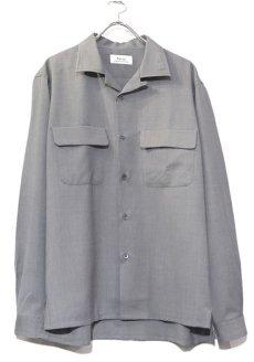 """画像1: Riprap """"W/S Tropical Semi Open Collar Shirts"""" color : MOONROCK (1)"""