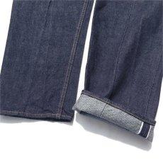 """画像6: Riprap """"Twisted Crease Jeans"""" -RELAXED FIT- color : INDIGO size W30~34INCH (S~L) (6)"""