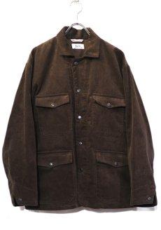"""画像1: Riprap """"Corduroy Hunting Coat"""" color : BROWN size LARGE (1)"""