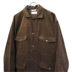 """画像5: Riprap """"Corduroy Hunting Coat"""" color : BROWN size LARGE (5)"""
