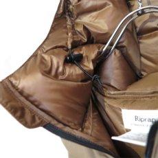 """画像8: Riprap """"Quarter Down Hoodie"""" color : TAUPE size FREE (8)"""