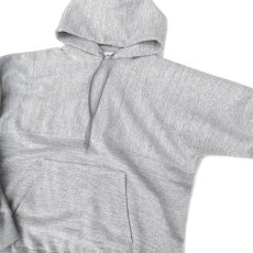"画像6: Riprap -Super Soft Loopwheel- ""Harf-Reverse Sweat Hoodie""  color : HEATHER GRAY size MEDIUM, LARGE, X-LARGE (6)"