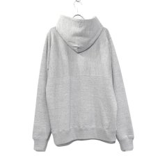 "画像3: Riprap -Super Soft Loopwheel- ""Harf-Reverse Sweat Hoodie""  color : HEATHER GRAY size MEDIUM, LARGE, X-LARGE (3)"