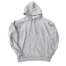 "画像4: Riprap -Super Soft Loopwheel- ""Harf-Reverse Sweat Hoodie""  color : HEATHER GRAY size MEDIUM, LARGE, X-LARGE (4)"