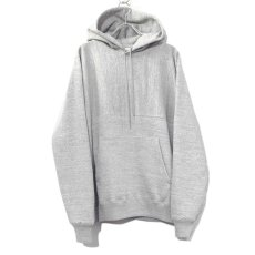 "画像2: Riprap -Super Soft Loopwheel- ""Harf-Reverse Sweat Hoodie""  color : HEATHER GRAY size MEDIUM, LARGE, X-LARGE (2)"