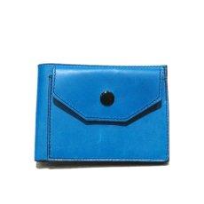 """画像2: """"JUTTA NEUMANN"""" Leather Wallet with Change Purse -二つ折り財布- color : Turquoise / Purple (2)"""