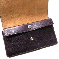 """画像9: """"JUTTA NEUMANN"""" Leather Wallet """"Waiter's Wallet"""" -長財布- color : Purple / Light Brown  (9)"""