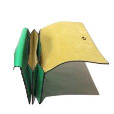 """画像7: """"JUTTA NEUMANN"""" Leather Wallet """"Waiter's Wallet"""" -長財布- color : Kelly Green / Yellow (7)"""