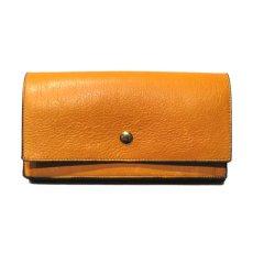 """画像2: """"JUTTA NEUMANN"""" Leather Wallet """"Waiter's Wallet"""" -長財布- color : Mustard / Pink (2)"""