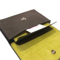"""画像8: """"JUTTA NEUMANN"""" Leather Wallet """"Waiter's Wallet""""  -MEDIUM SIZE- color : Olive / Lime (8)"""