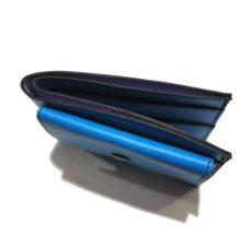 """画像5: """"JUTTA NEUMANN"""" Leather Wallet with Change Purse -二つ折り財布- color : Turquoise / Purple (5)"""