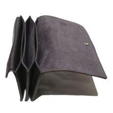 """画像7: """"JUTTA NEUMANN"""" Leather Wallet """"Waiter's Wallet"""" -長財布- color : Black / Charcoal (7)"""