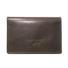"""画像2: """"JUTTA NEUMANN"""" Leather Wallet """"Waiter's Wallet""""  -MEDIUM SIZE- color : Olive / Lime (2)"""