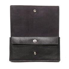 """画像5: """"JUTTA NEUMANN"""" Leather Wallet """"Waiter's Wallet"""" -長財布- color : Black / Charcoal (5)"""