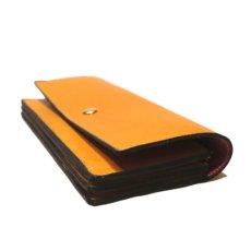 """画像4: """"JUTTA NEUMANN"""" Leather Wallet """"Waiter's Wallet"""" -長財布- color : Mustard / Pink (4)"""