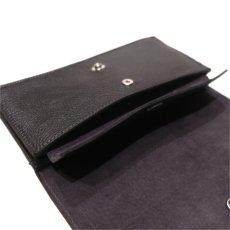 """画像9: """"JUTTA NEUMANN"""" Leather Wallet """"Waiter's Wallet"""" -長財布- color : Black / Charcoal (9)"""