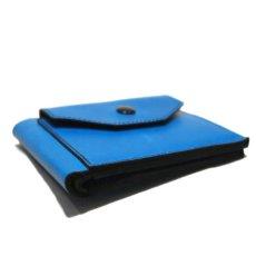 """画像4: """"JUTTA NEUMANN"""" Leather Wallet with Change Purse -二つ折り財布- color : Turquoise / Purple (4)"""