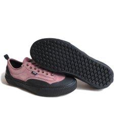 """画像6: NEW VANS """"DESTRUCT SF"""" Suede Leather Sneaker color : PINK/BLACK size US 8,5, 9, 10 (6)"""