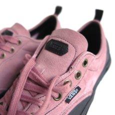 """画像7: NEW VANS """"DESTRUCT SF"""" Suede Leather Sneaker color : PINK/BLACK size US 8,5, 9, 10 (7)"""