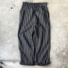 画像4:  US Poly-Cotton Cook Pants -CHALK STRIPE- size XS, S, M (4)