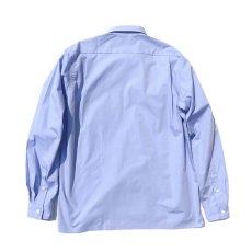 """画像3: Riprap """"Broad Cotton Semi Open Collar Shirt""""  color : SAX size MEDIUM, LARGE (3)"""