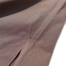 "画像7: Riprap ""Broad Cotton Semi Open Collar Shirt""  color : BROWN size MEDIUM, LARGE, X-LARGE (7)"