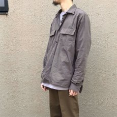 "画像10: Riprap ""Broad Cotton Semi Open Collar Shirt""  color : BROWN size MEDIUM, LARGE, X-LARGE (10)"
