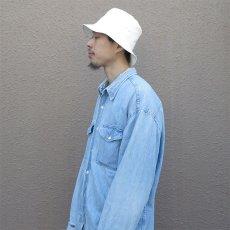 """画像12: Riprap """"BAGUETTE HAT"""" color : GRAY, WHITE, BLACK size MEDIUM (12)"""