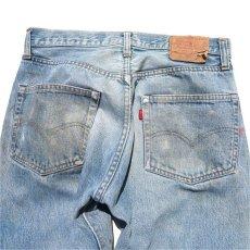 画像8: 1970's Levi's 501 Late 66 Indigo Denim 5-Pocket Pants W30INCH(表記W32L32) (8)