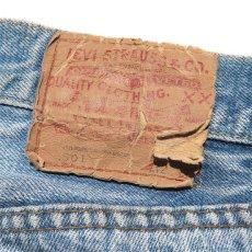 画像10: 1970's Levi's 501 Late 66 Indigo Denim 5-Pocket Pants W30INCH(表記W32L32) (10)