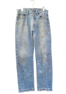 画像1: 1970's Levi's 501 Late 66 Indigo Denim 5-Pocket Pants W30INCH(表記W32L32) (1)