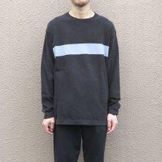 画像5: 1990's GAP Heavy Cotton 2-Tone L/S T-Shirt BLACK/GREY size M-L(表記M) (5)