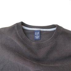 画像3: 1990's GAP Heavy Cotton 2-Tone L/S T-Shirt BLACK/GREY size M-L(表記M) (3)