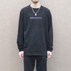 画像5: NAUTICA competition Logo Print L/S T-Shirt BLACK size L(表記L) (5)