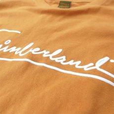 画像4: 1990's~ TIMBERLAND Logo Print L/S T-Shirt MUSTARD size XXXL (表記XXXL) (4)