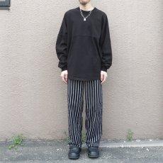画像2:  US Poly-Cotton Cook Pants -CHALK STRIPE- size XS, S, M (2)