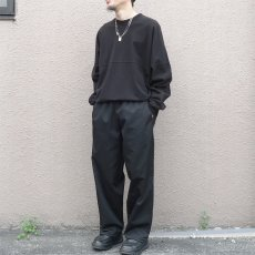 画像2:  US Poly-Cotton Cook Pants -BLACK- size XS, S, M (2)