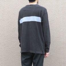 画像6: 1990's GAP Heavy Cotton 2-Tone L/S T-Shirt BLACK/GREY size M-L(表記M) (6)