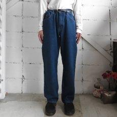 """画像6: Wrangler """"FIVE STAR"""" Relaxed Fit Denim Pants BLUE DENIM size W34, 36INCH (6)"""