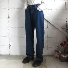 """画像7: Wrangler """"FIVE STAR"""" Relaxed Fit Denim Pants BLUE DENIM size W34, 36INCH (7)"""