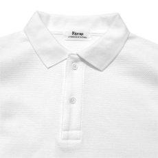"""画像3: Riprap """"Polo Shirt""""  color : WHITE size MEDIUM, LARGE, X-LARGE (3)"""