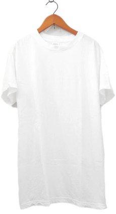 """画像1: 00's U.S.Military All Cotton Crew Neck T-Shirts  """"made in U.S.A."""" Dead Stock-one wash WHITE size XS / S / M / L / XL (1)"""