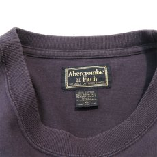 画像4: 1990's~ Abercrombie & Fitch Logo Print L/S T-Shirt NAVY size XL(表記XL) (4)