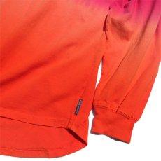 画像3: SPIRIT JERSEY Tie-Dye L/S T-Shirt PINK~ORANGE size XL(表記XL) (3)