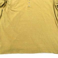 画像3: 1990's GAP(ギャップ) L/S Polo Shirt MUSTARD size L-XL(表記L) (3)
