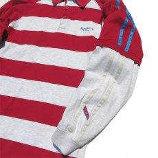 画像5: Pepe Jeans L/S Layered Lager Shirt RED/ASH GREY sizeXL(表記L) (5)