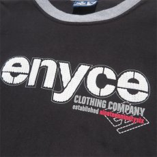 画像3: enyce L/S Layered Print T-Shirt BLACK size XXXL(表記L) (3)