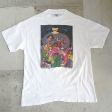 "画像1: 1990's Hanes BEEFY ""motherhood"" Art Print T-Shirt WHITE size L(表記L) (1)"