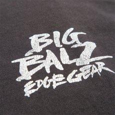 """画像7: 1990's FRUIT OF THE LOOM """"BIG BALZ EDGE GEAR"""" Print T-Shirt BLACK size L(表記L) (7)"""